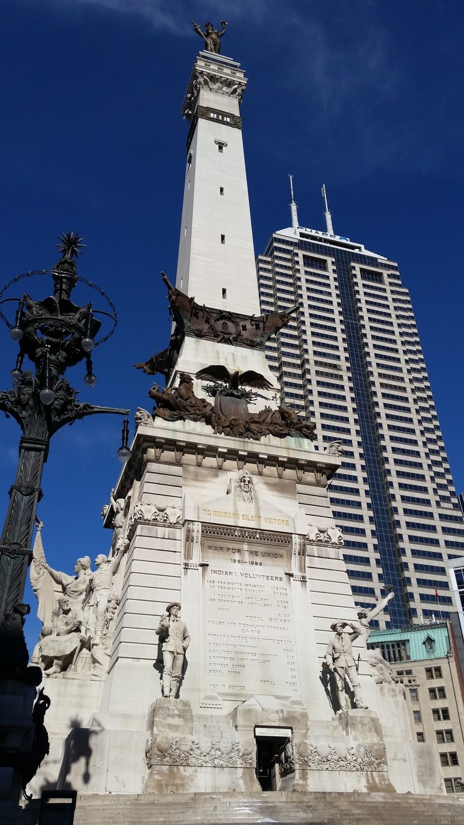 I was downtown (in Indianapolis Indiana) dropping off my son for an activity and decided that it ...