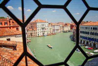 Palazzo view on the Grand Canal