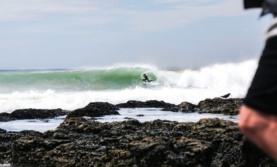 Barreled at Supers to start the day