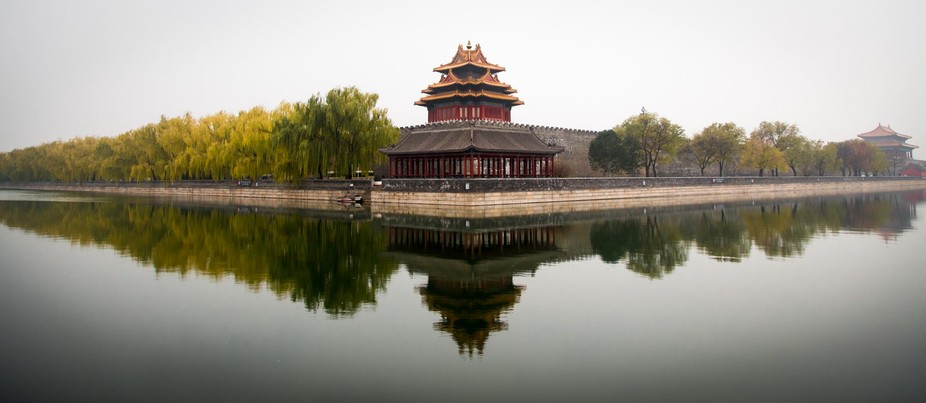 The Forbidden City - Home to 24 Emperors of China from 1420-1912.  A visual reminder that royalty...
