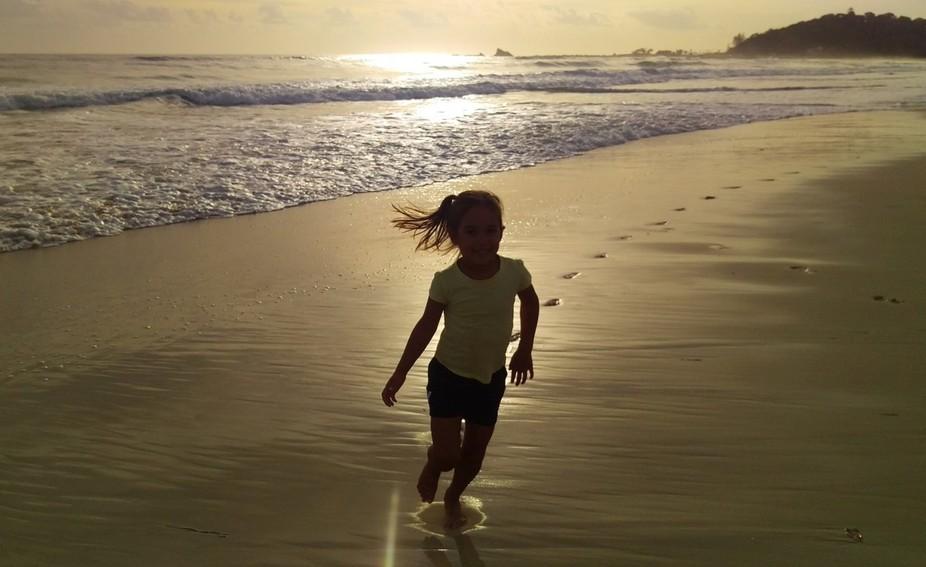 Run On The Beach