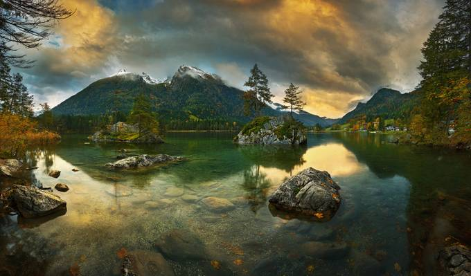 Hintersee.... by kbrowko - Unforgettable Landscapes Photo Contest by Zenfolio