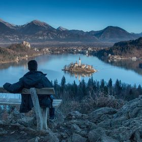 View to Bled lake