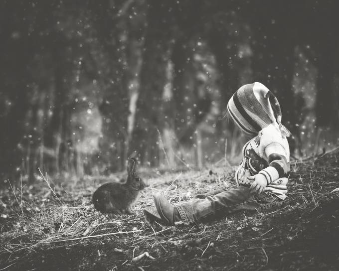 Forest Friends by ericakinsella - Kids And Pets Photo Contest