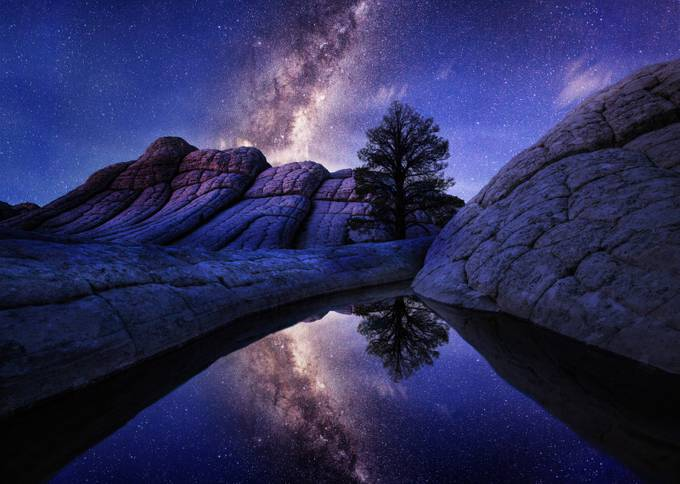 Summer Night Reflections by David_Blakley_Photography - Capture The Milky Way Photo Contest