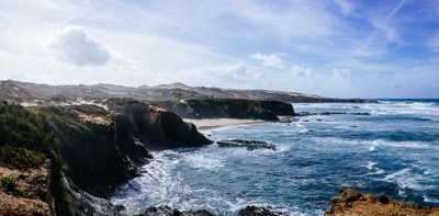 The beautiful coastline of Almograve, Portugal