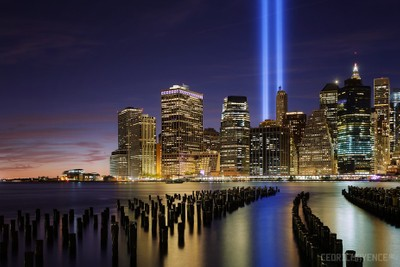 New York Tribute in Lights to 9/11