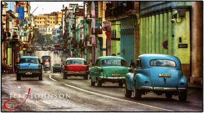 Colorful Streets of Havana
