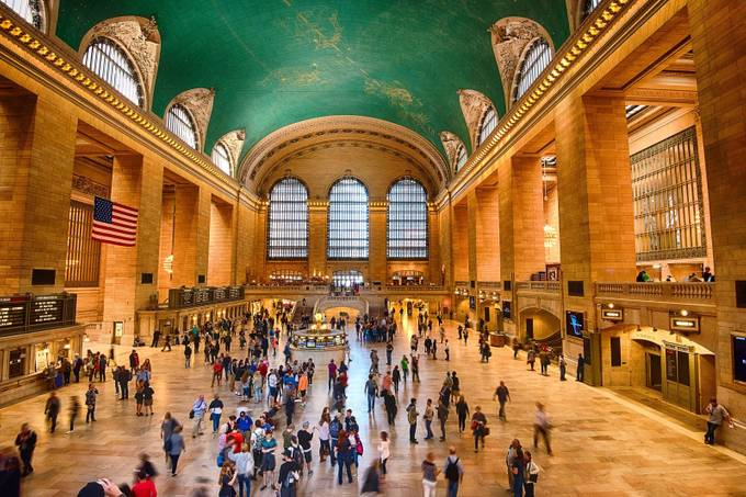 Grand central by Stephen-Blake-Photography - Public Transport Hubs Photo Contest