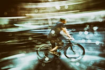 New York cyclist