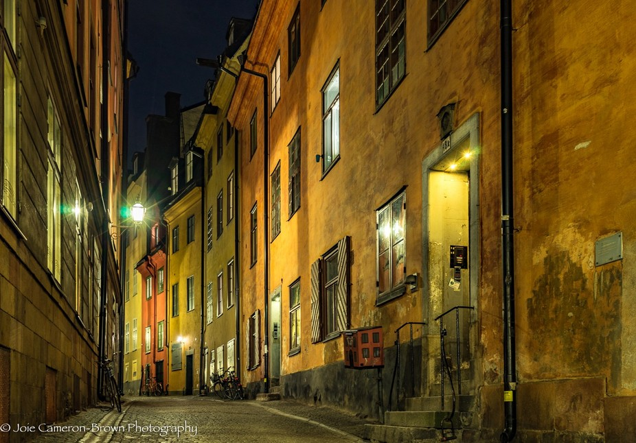 On a trip to Sweden took the opportunity to do some night shooting in Old Town Stockholm.  I love...