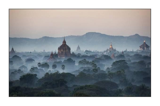 mystic bagan by uhunachdemwaldbrand - Photogenic Villages Photo Contest