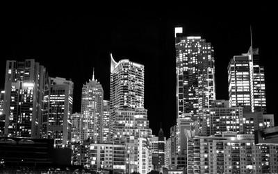 Sydney in Black & White