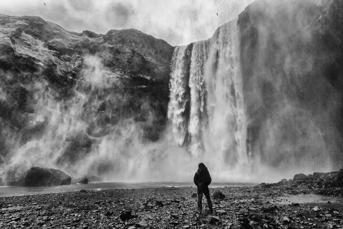 IMG_4720_BW by jayaruwan - People And Waterfalls Photo Contest