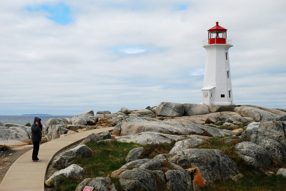 Went on a road trip to see the famous Peggy's Cove Lighthouse in Nova Scotia.