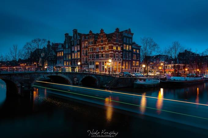 Amsterdam by nikokersting - The Blue Hour Photo Contest