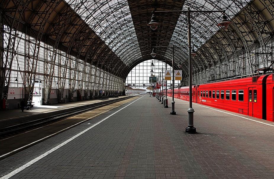 Перон Киевского вокзала