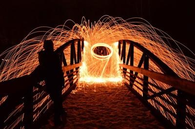 Light the bridge and watch it burn