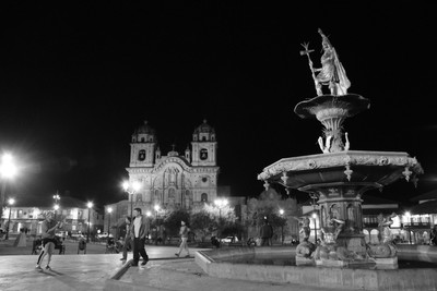 Experimenting with light in Cuzco
