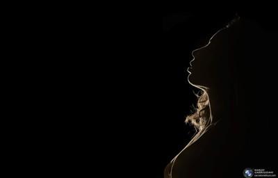 """Profile of woman"""