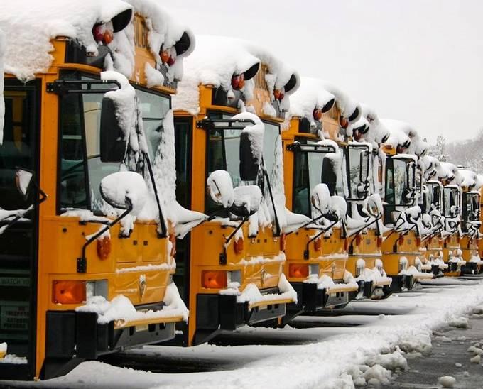 Snow day by kurtvolkle - Public Transport Hubs Photo Contest