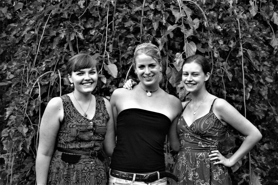 Three friends named Lauren.