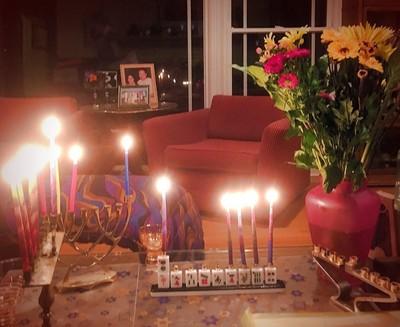 Celebrating Chanukah at Sarah's House