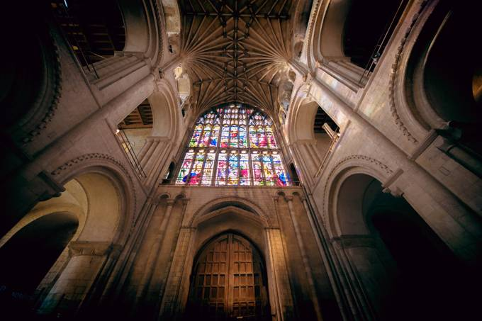 Norwich Cathedral by justinbetts - High Ceilings Photo Contest