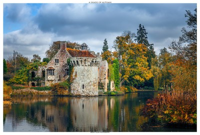 A Shade Of Autumn - Scotney Castle