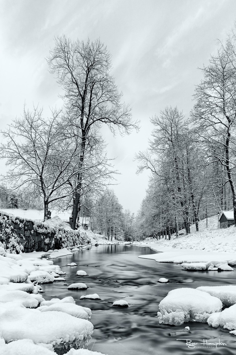 cold-waters-BW by rogerhampton - Winter Long Exposures Photo Contest