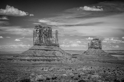 The Mittens, Monument Valley, Navajo Nation, USA