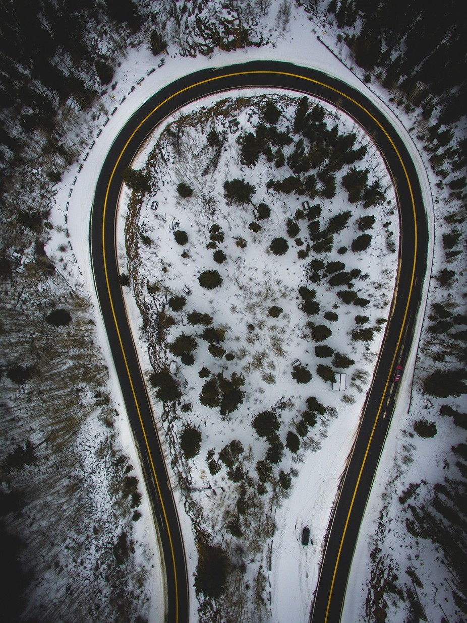 Mount Evans Road From Above by dcwilson98 - High Vantage Points Photo Contest