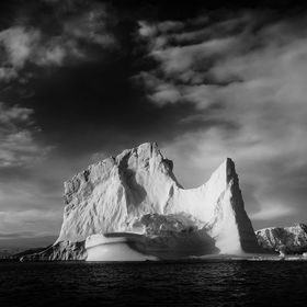This magnificent Iceberg towered over us