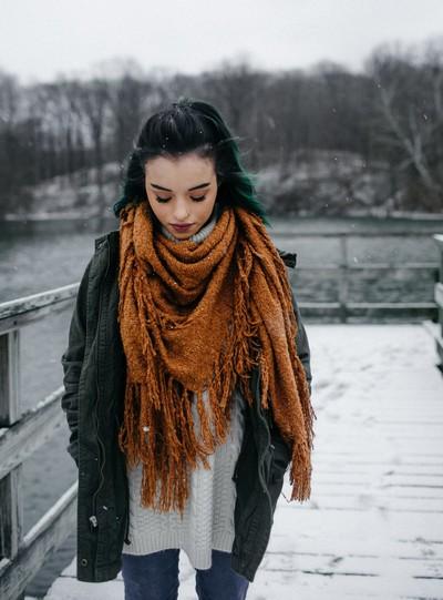 Ari in Winter