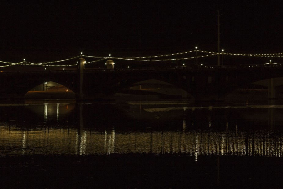 Tempe, AZ bridge over the Salt River