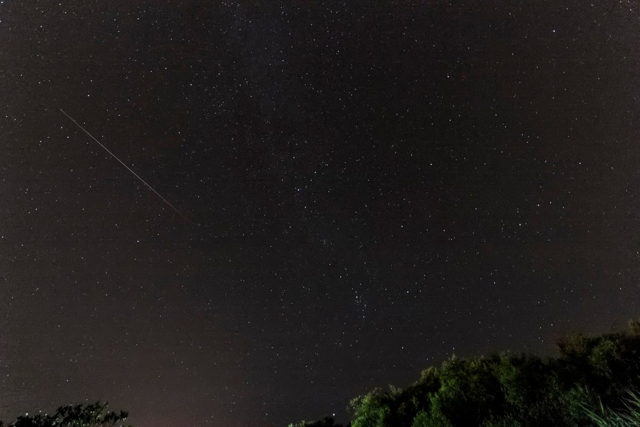 From the Perseid meteor shower of 2015