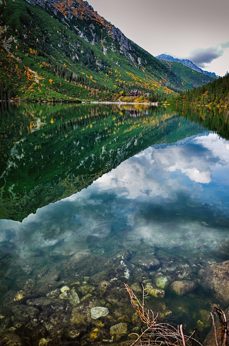 Cloudy day in the Tatra mountains by Taurenis - Spectacular Lakes Photo Contest