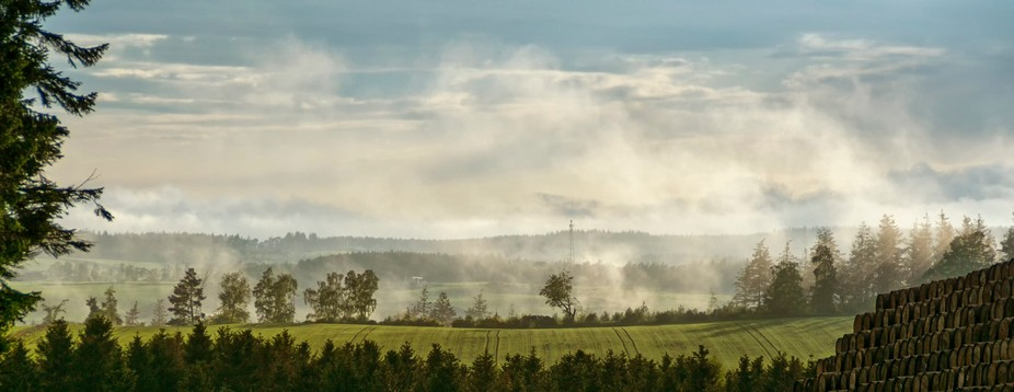 Taken on the way home from a photography club outing in summer 2016. There had been a heavy showe...
