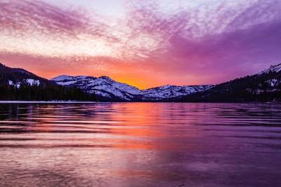 California landscape Tahoe, Ca