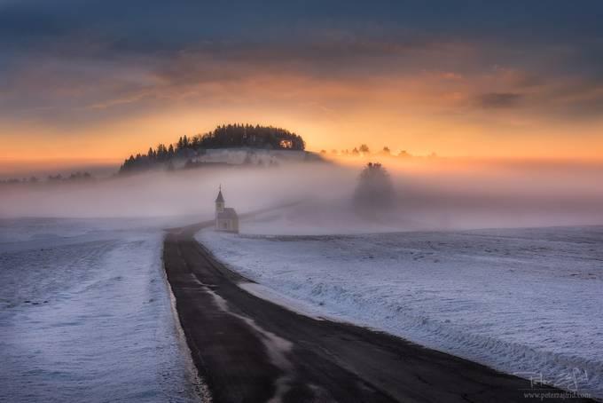 Winter morning by saintek - Unforgettable Landscapes Photo Contest by Zenfolio