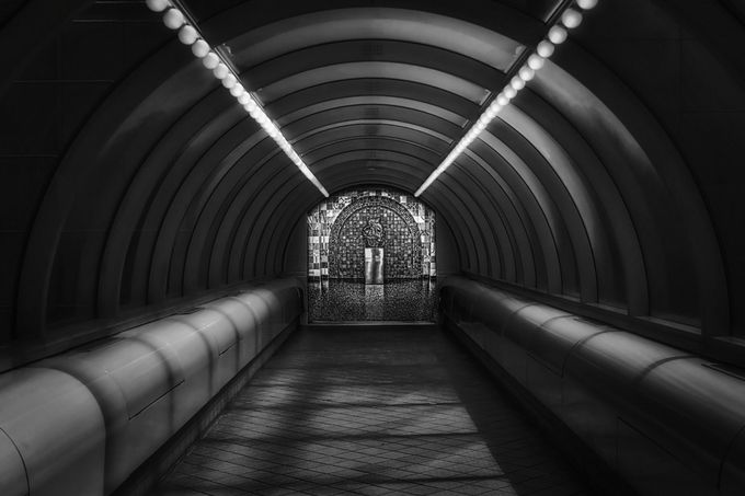 RenCen Station by adavies - Metro Stations Photo Contest
