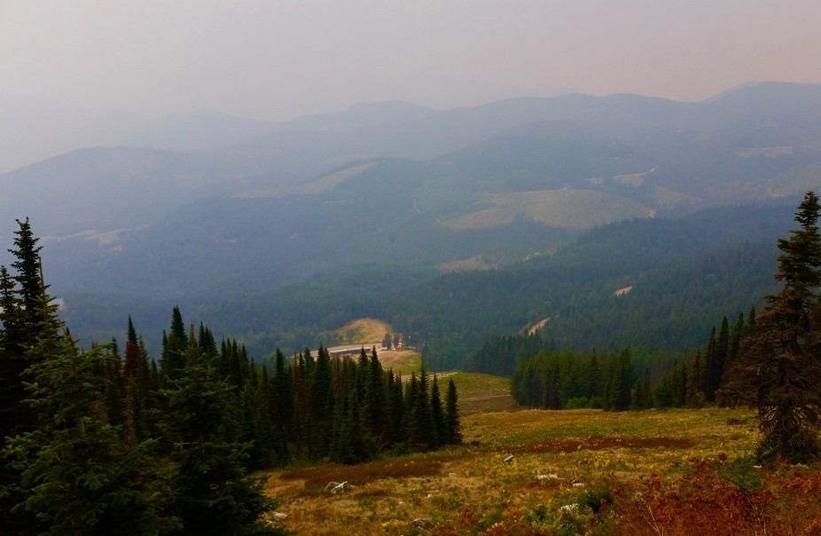 This is a view from the top of Mt. Spokane.  Before the snow falls, we always take a trip to the ...