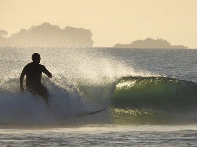 Early morning surf