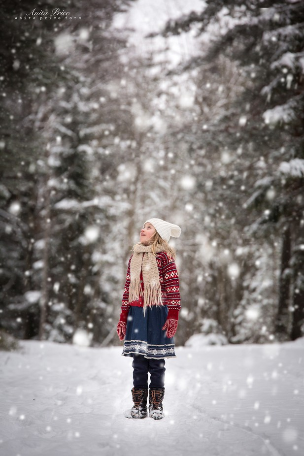 Winter Magic by anitaprice - Children In Nature Photo Contest