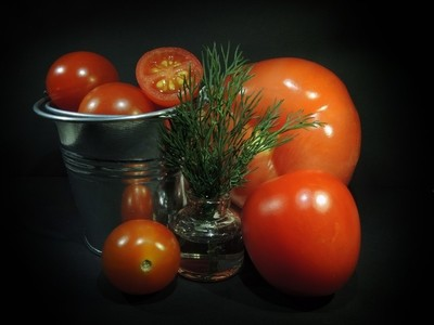 These different tomatoes