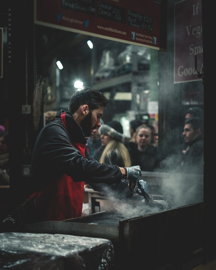 Borough Market Bugers by mrkirby - Food Markets Photo Contest