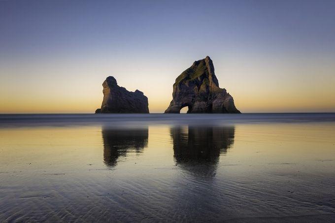 Archway Islands, Wharariki Beach by iamcordz - Unforgettable Landscapes Photo Contest by Zenfolio