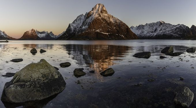 Norwegian mountain by CharlieNowlanPhotography - The First Light Photo Contest