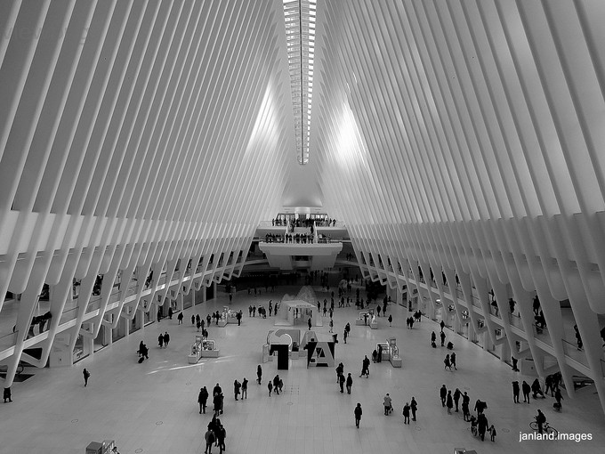 Feeling Small by janland - Metro Stations Photo Contest