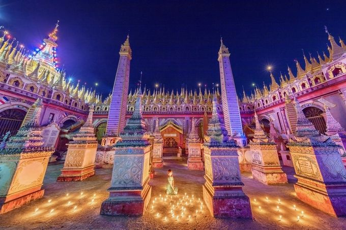 Thanboddhay Temple by zayyarlynn - Iconic Places and Things Photo Contest
